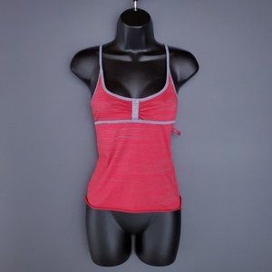 NWT DIESEL Tank Top Camisole Athletic Stripes Red